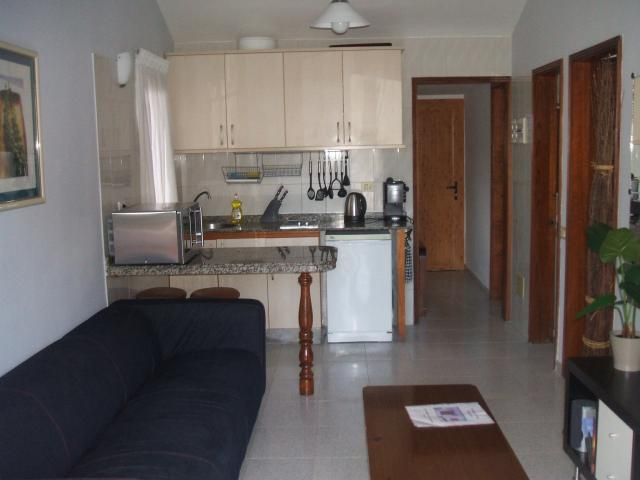 Compact kitchen - Number 83 Los Arcos, Playa del Ingles, Gran Canaria